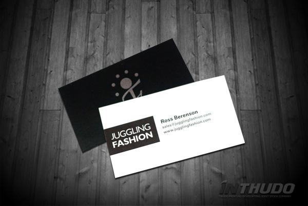 mẫu card visit thời trang 3
