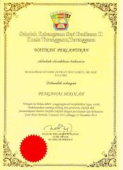 WATIKAH PERLANTIKAN PENGAWAS SEKOLAH (2013)