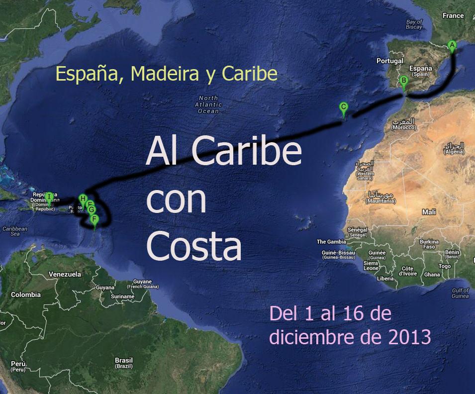 AL CARIBE CON COSTA