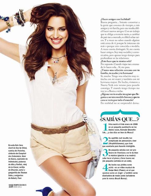 Irina Sheik Cosmopolitan Magazine Wallpapers