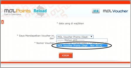 Voucher Game Mol Points Gratis Chip Sakti Pulsa Payment PPOB