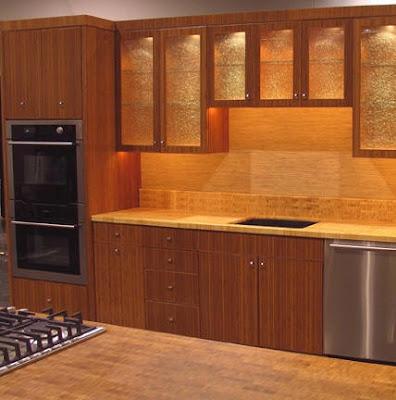 Lindos gabinetes de cocina de bamb decoraciones de cocinas for Decoracion de gabinetes de cocina