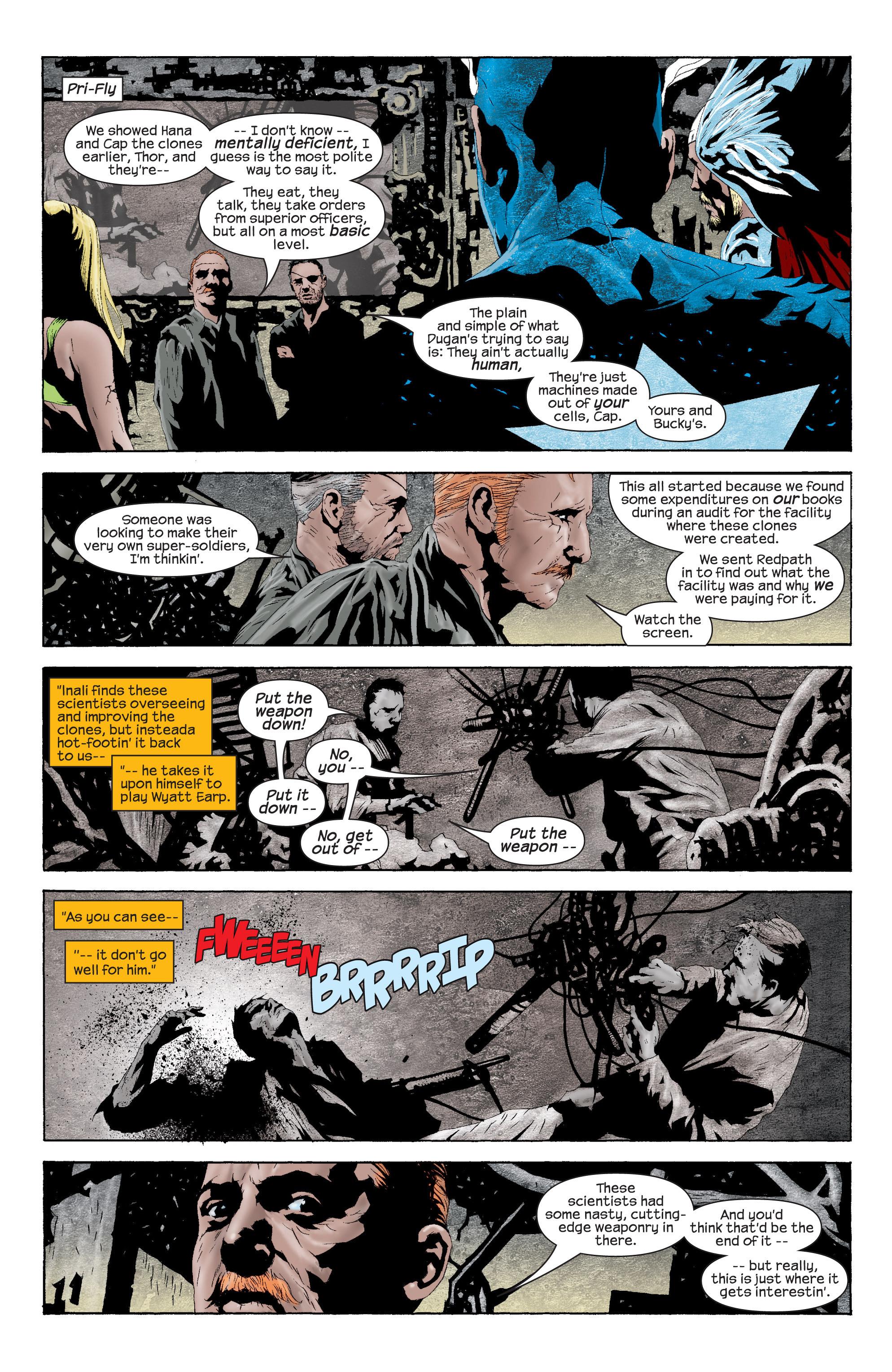 Captain America (2002) Issue #11 #12 - English 5