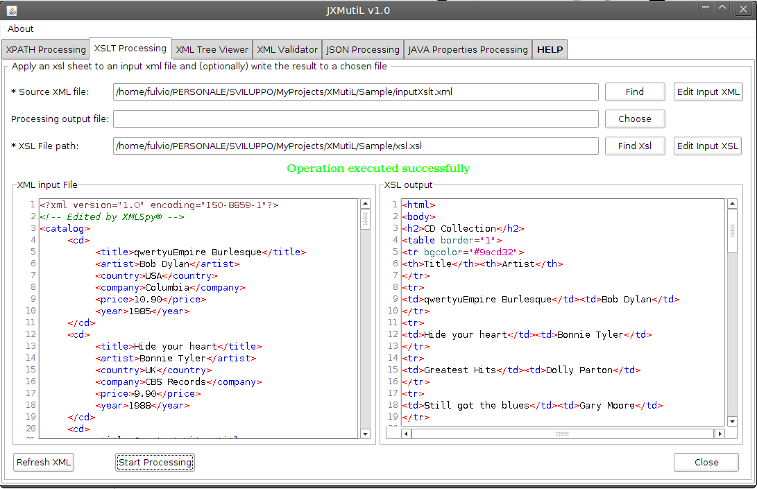 Validating xml against xsd using xslt functions