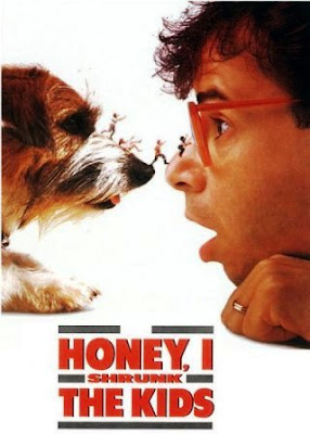 Cariño, he encogido a los niños (Honey, I Shrunk the Kids)(1989) movie poster pelicula
