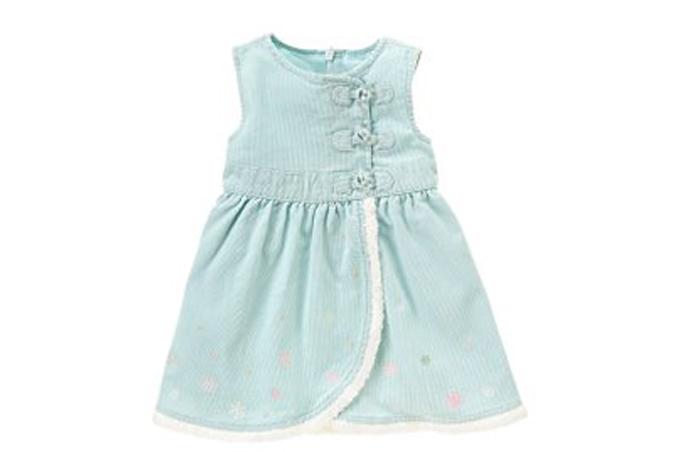 صورة فستان صغير لبنت صيفي جميل