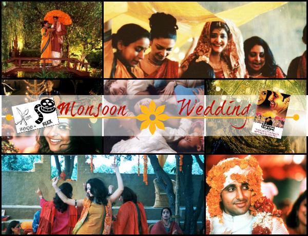 Food 'n Flix July '13 pick: Monsoon Wedding (I'm hosting!) | www.girlichef.com