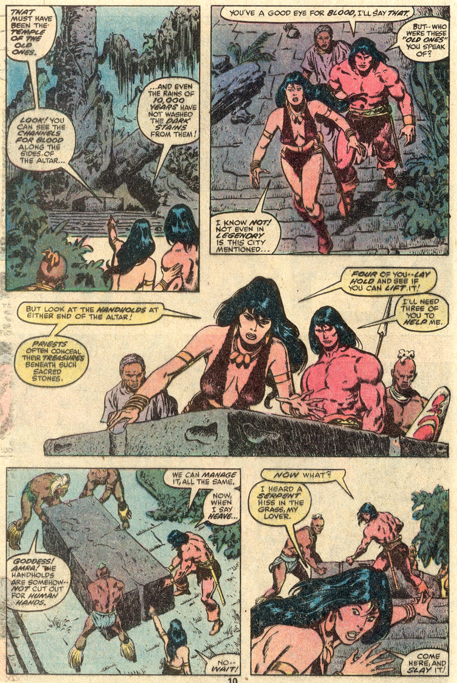 Conan the Barbarian (1970) Issue #100 #112 - English 9