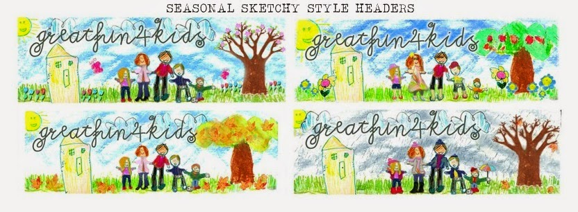 Greatfun4kids blog sketchy style header