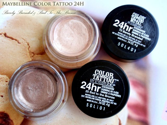 Ewwwa make up ewa bloguje maybelline color tattoo for Maybelline color tattoo barely branded