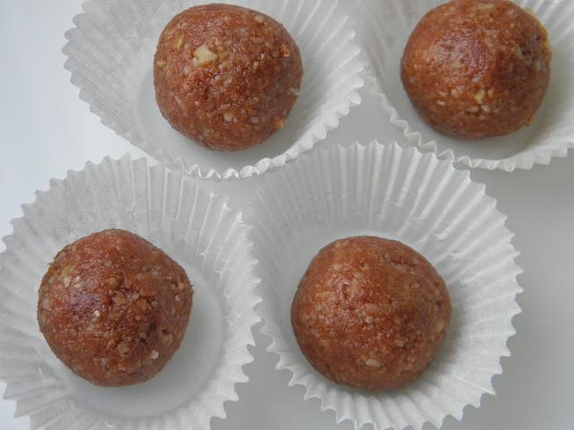 ořechové kuličky bez lepku