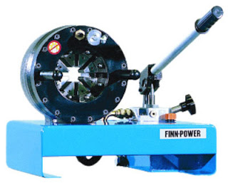 Finn Power P-16 Crimmping Machine