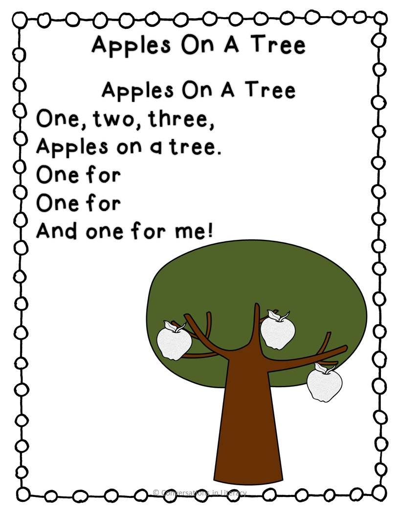 short poem on trees in english