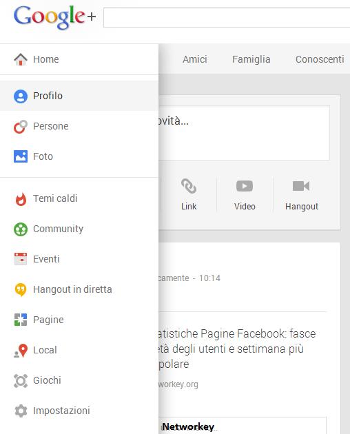 Temi Caldi Google Plus Categorie