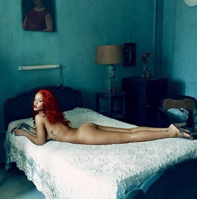 Rihanna desnuda en Vanity Fair