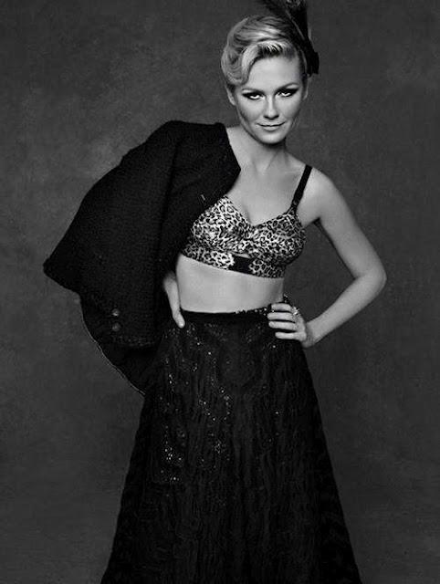 Pequeno casaco Chanel Kirsten Dunst