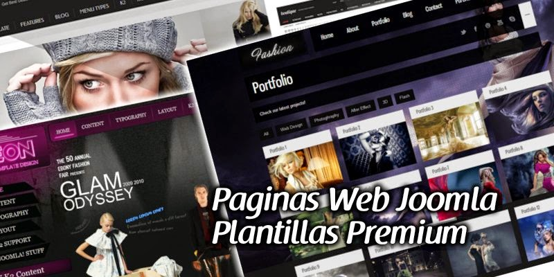 Joomla Web de Paginas Web Con Joomla
