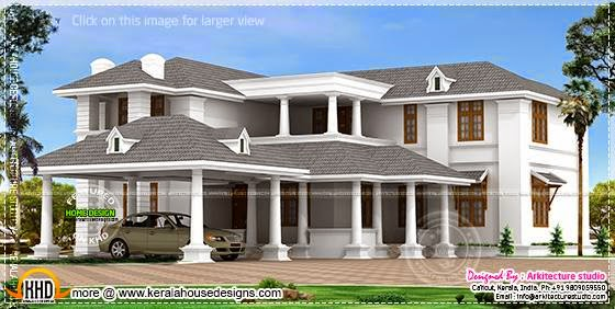 Big luxury home model