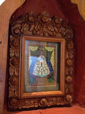 Nuestra Señora de la Salud de Pátzcuaro: Técnica Arte Plumario