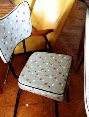 Retro kitchen chair in Ozone Bazaar