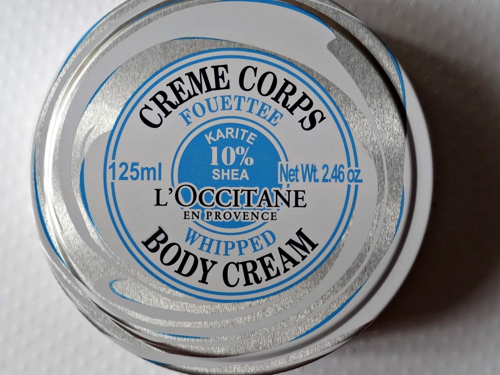 L'Occitane Shea Whipped Body Cream