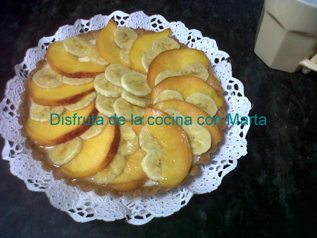 tartaleta de frutas con crema pastelera