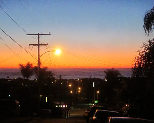 Twilight, Pacific Ocean, South Bay