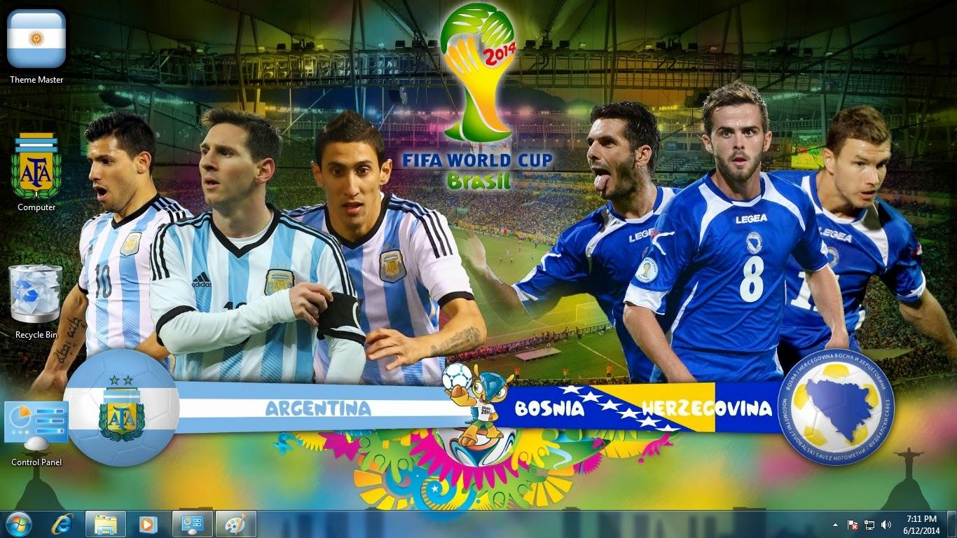 Copa do Mundo da FIFA Argentina Tema