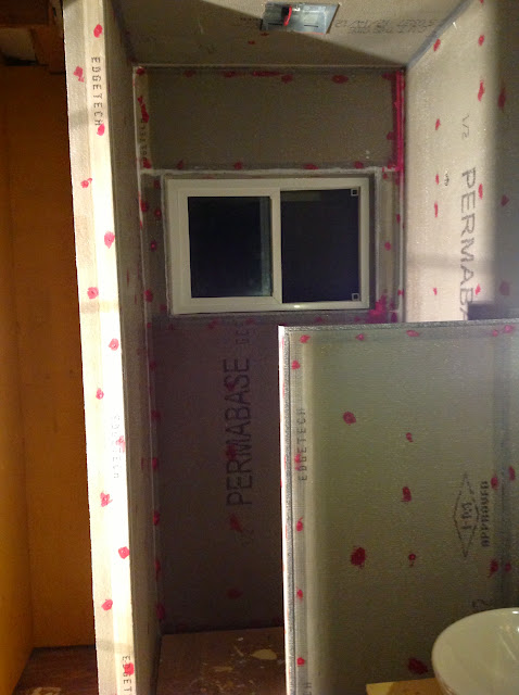 cement backer board cut it right get it over with. Black Bedroom Furniture Sets. Home Design Ideas