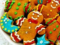 Aneka Kue Natal : Resep Gingerbread Cake