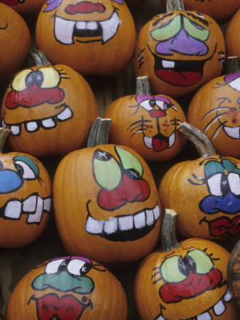 pumpkin designs and paintings