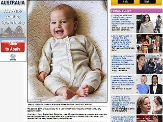 微笑胎兒 - 微笑胎兒出生了