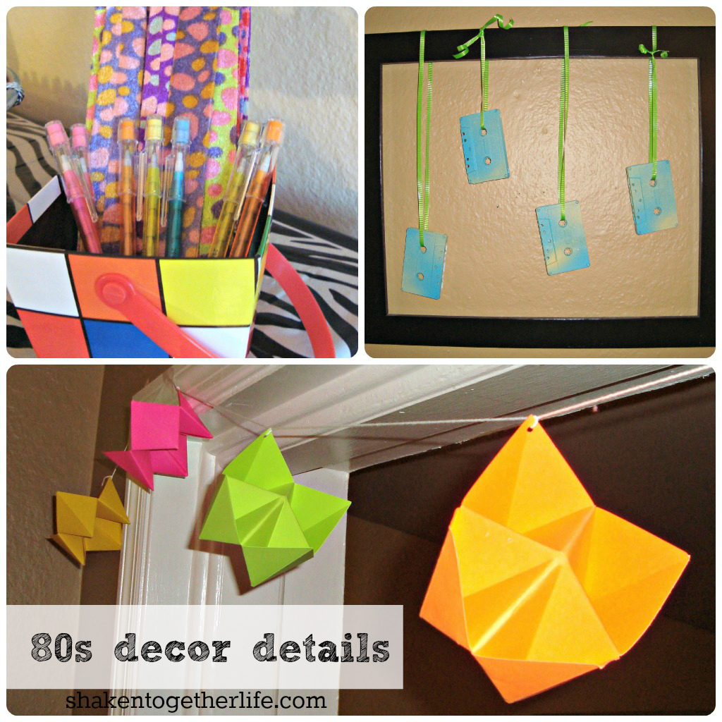 80s party big reveal tons of 80s party ideas