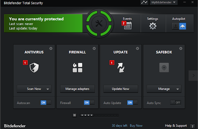 تحميل برنامج بيتدفندر لمكافحة الفيروسات والبرامج الضارة مجاناً 1.0.20.1083 Bitdefender Antivirus Free