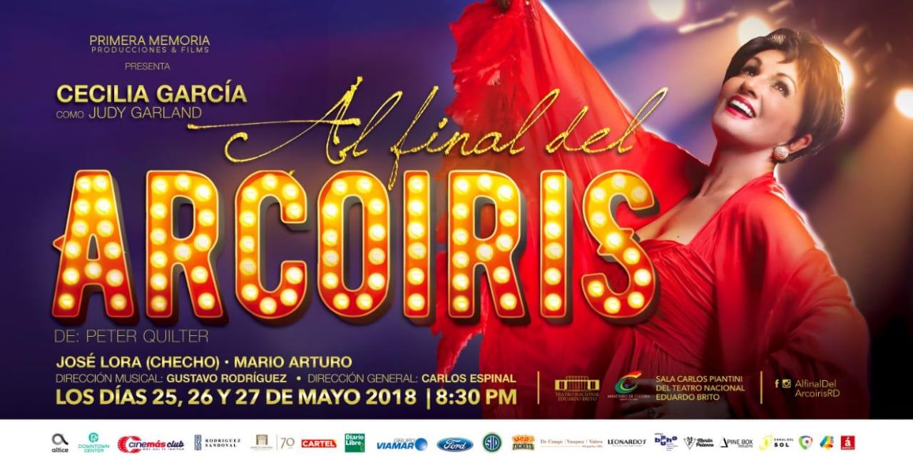 """Cecilia García presenta: """"Al Final del Arcoiris"""
