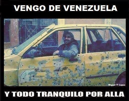 Vengo de Venezuela! | Imagenes Chistosas Fail