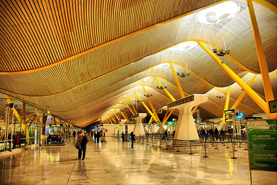 madrid barajas international airport 8 Bandara Terindah Dunia