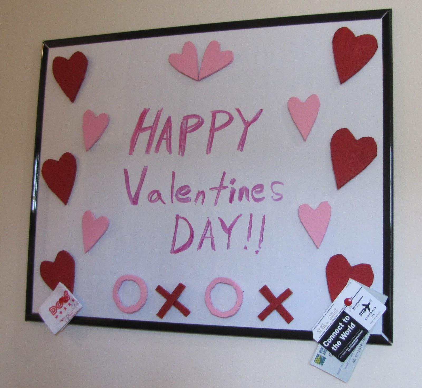 crafts and digital dollars diy valentines dry erase cork board