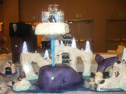 Moby Dick cake by The Master's Baker