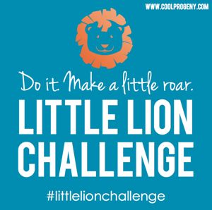 Little Lion Challenge: Make a Little Roar #littlelionchallenge