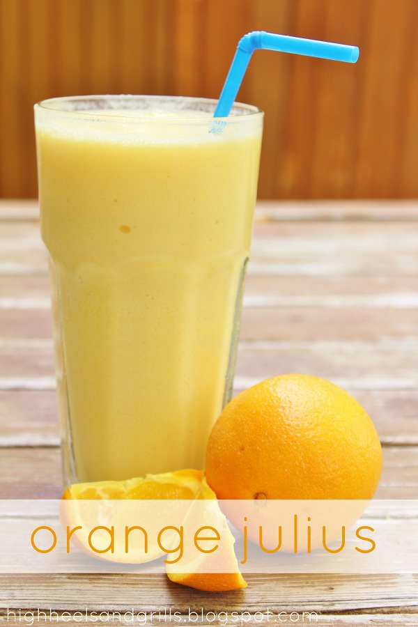 non-alcoholic orange julius recipe