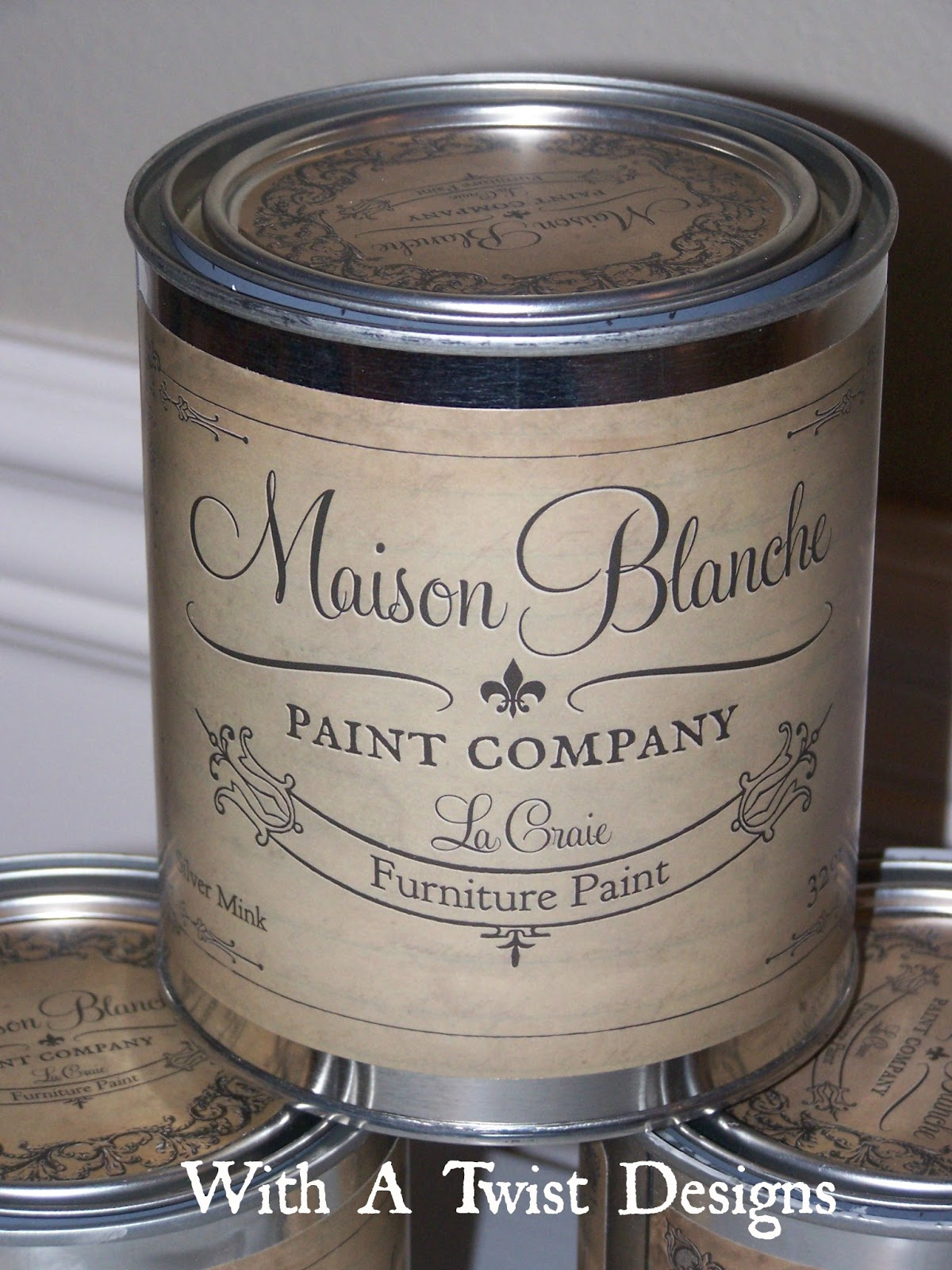 With a twist new year new chalk paint maison blanche for A la maison lotion