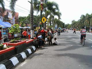 Jl solo jogja Car free Day