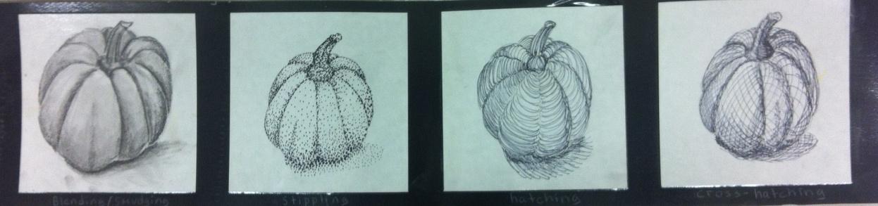 Contour Line Drawing Pumpkin : Art enrichment pumpkin themed for all grades