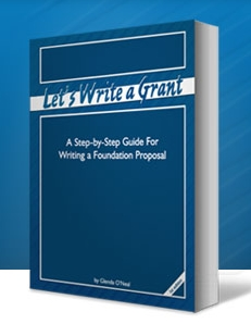 Let's Write a Grant is step-by-step guide for writing foundation grant proposals and improving proposal writing.