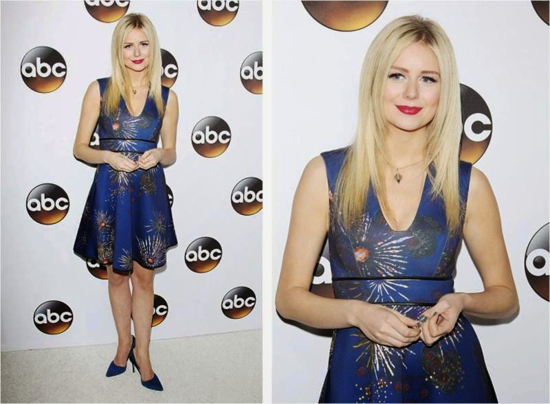 Justine Lupe wore Cynthia Rowley
