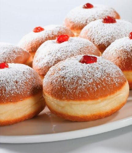 Jelly Filled Cake Donuts