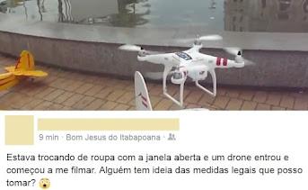 Drone não é brinquedo, debater regulamentação e controle se faz necessário