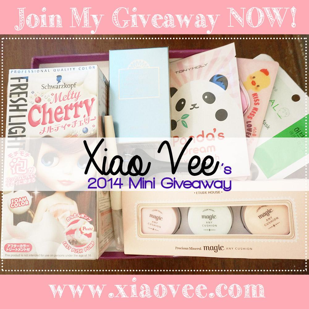 Xiao Vee Giveaway