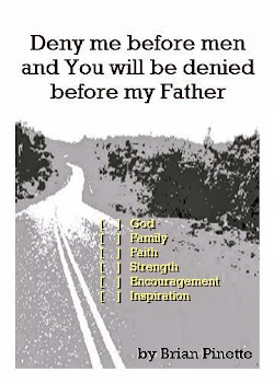 Deny me before men and You will be denied before my Father [Kindle Edition]